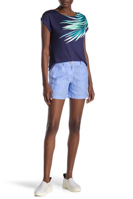 Image of Tommy Bahama Sea Glass Linen Shorts