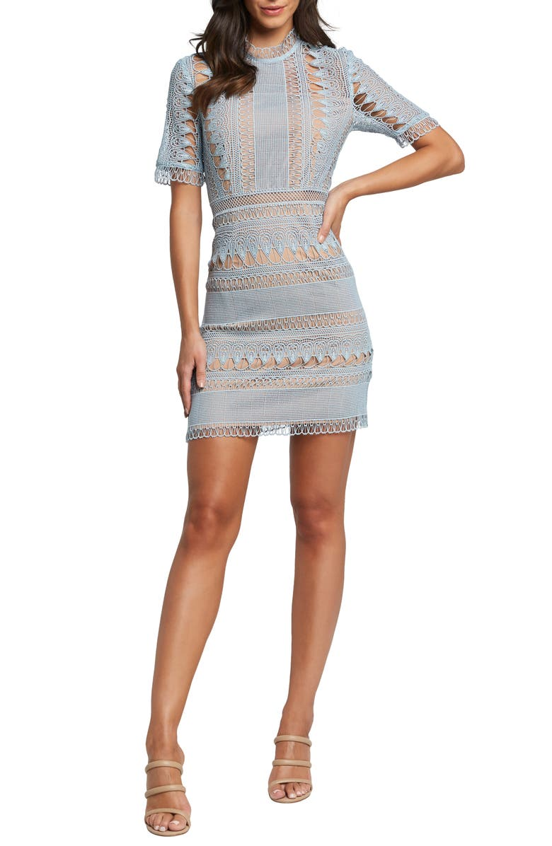 Brenda Lace Sheath Dress by Bardot