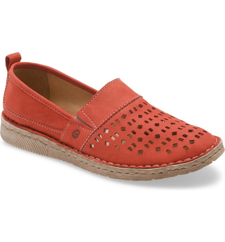 JOSEF SEIBEL Sofie 27 Flat, Main, color, RED LEATHER