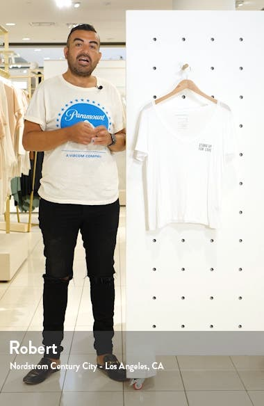 Aiden Stand Up V-Neck Tee, sales video thumbnail