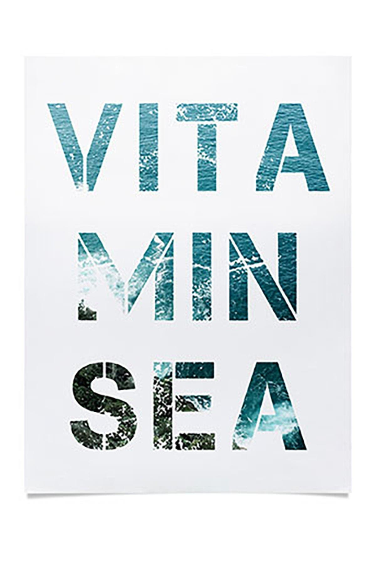 Image of Deny Designs Gale Switzer Vitamin Sea Poster
