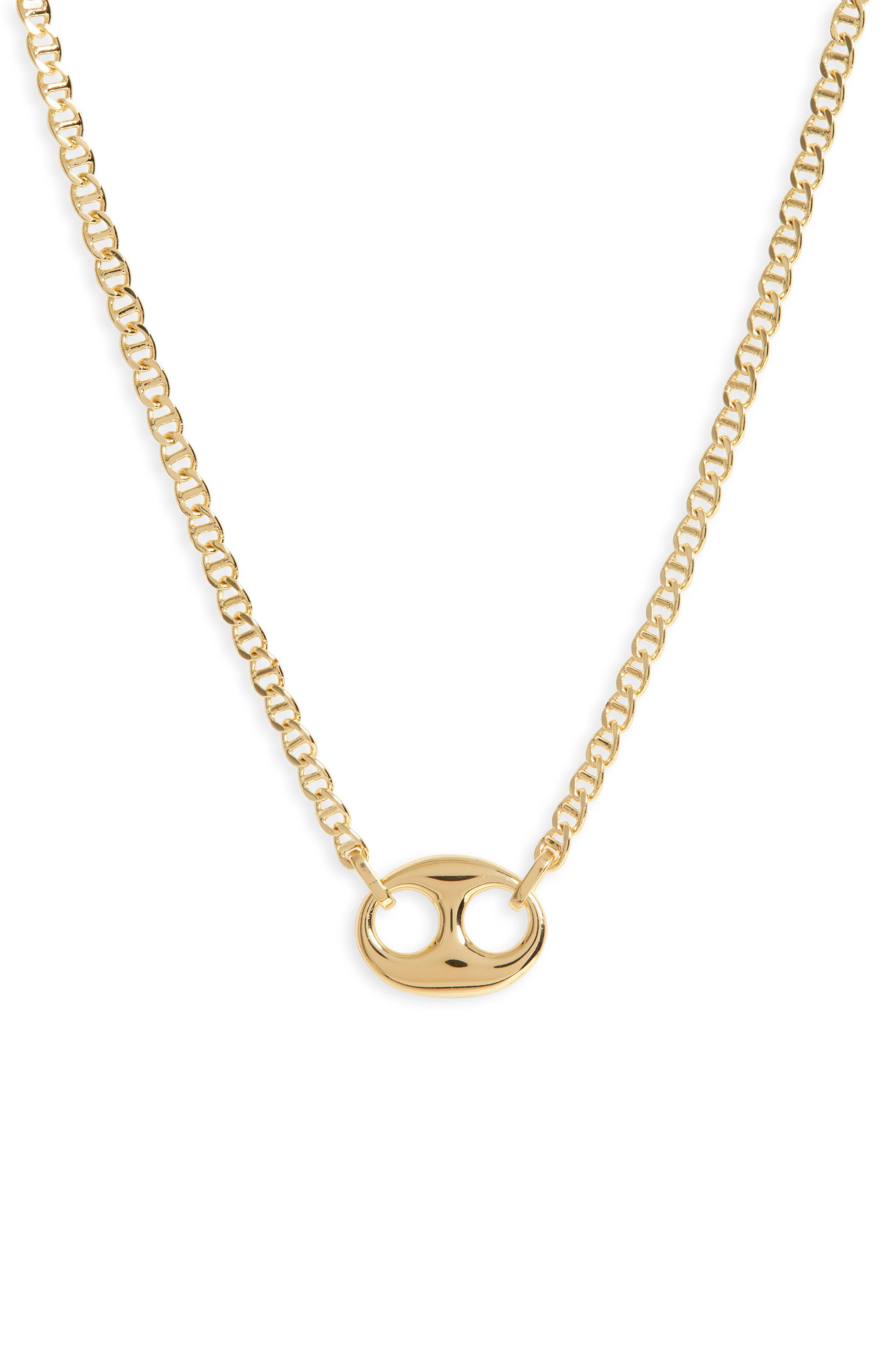 Port Link Pendant Necklace