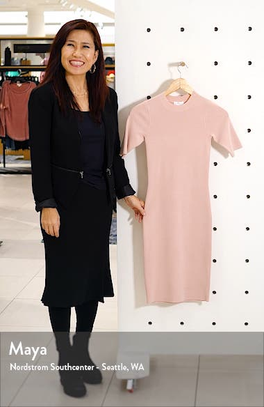 Body-Con Sweater Dress, sales video thumbnail