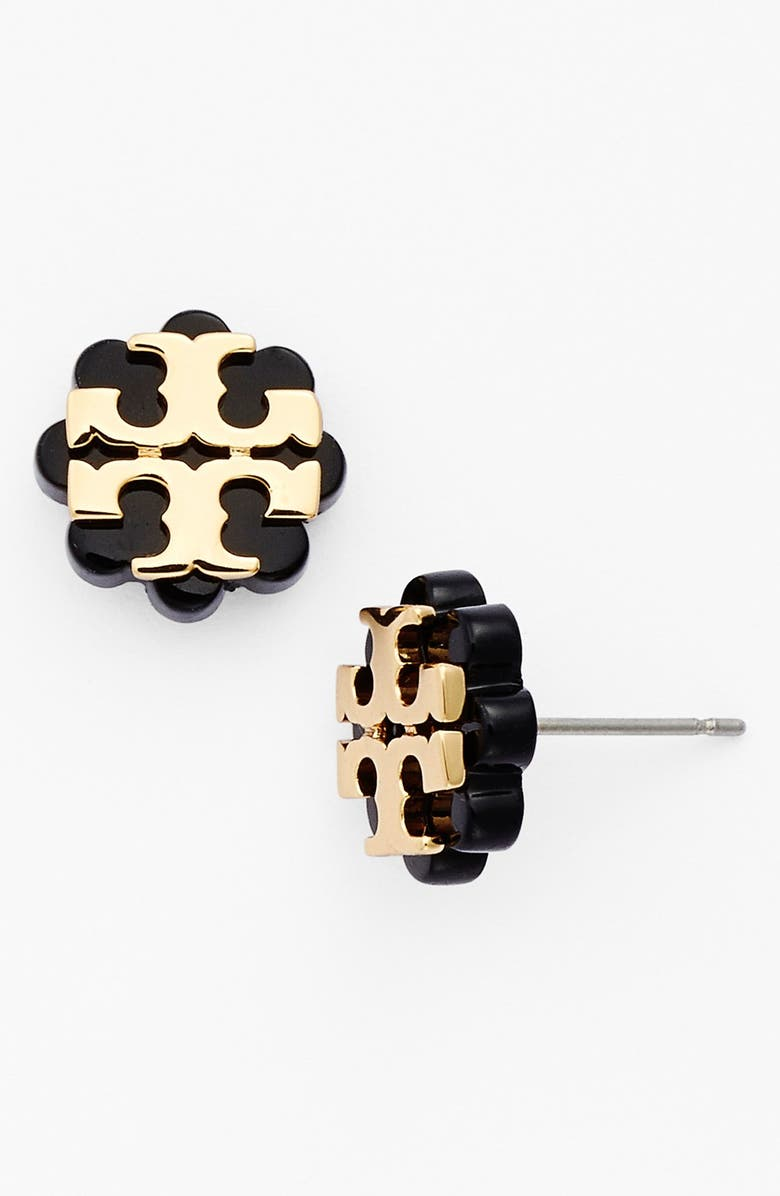 971777d57 Tory Burch Logo Flower Stud Earrings | Nordstrom