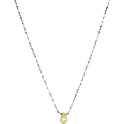 Nashelle August Synthetic Birthstone Choker Necklace