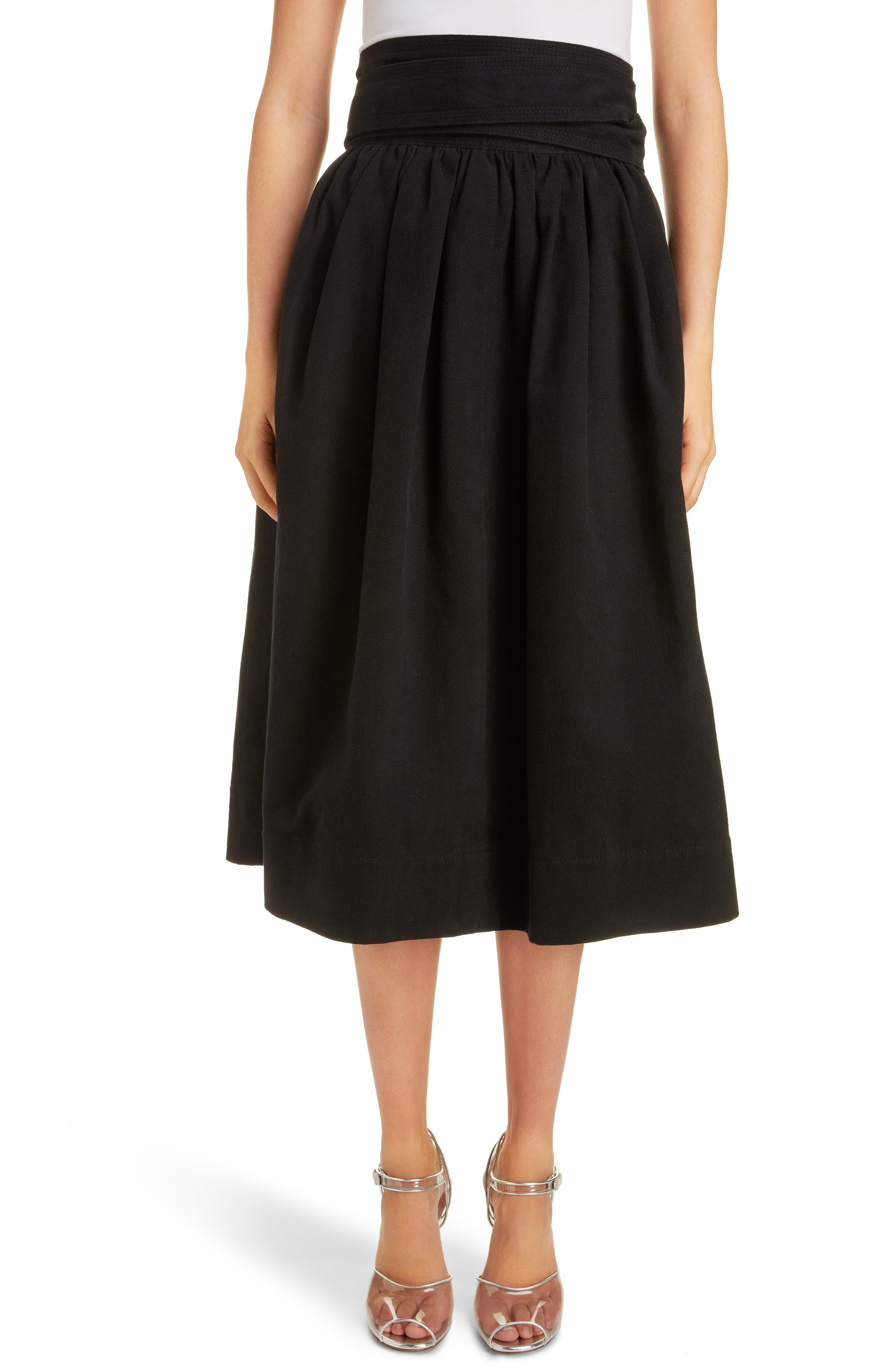 Marc Jacobs Skirts High Waist Denim Skirt