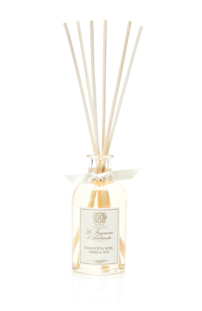ANTICA FARMACISTA Damascena Rose, Orris & Oud Home Ambiance Perfume, Main, color, NO COLOR