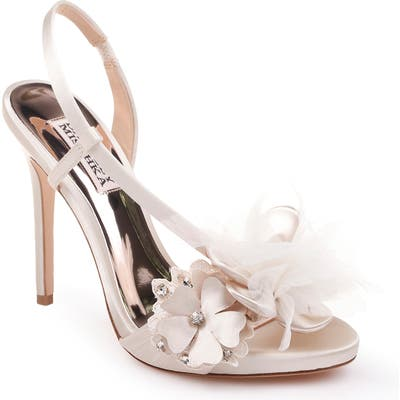 Badgley Mischka Forever Flower Sandal