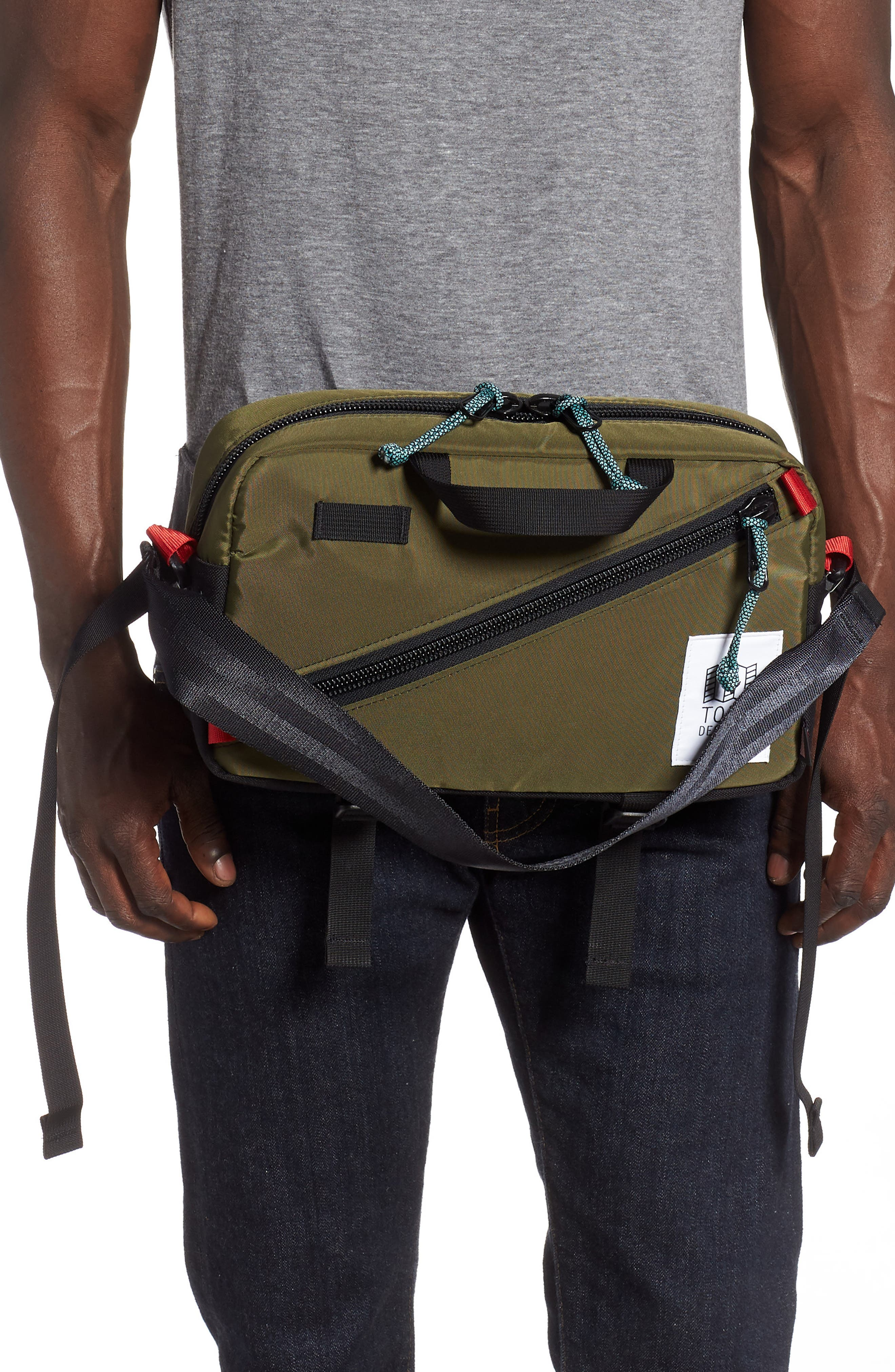 ,                             Quick Pack Belt Bag,                             Alternate thumbnail 2, color,                             OLIVE/ BLACK