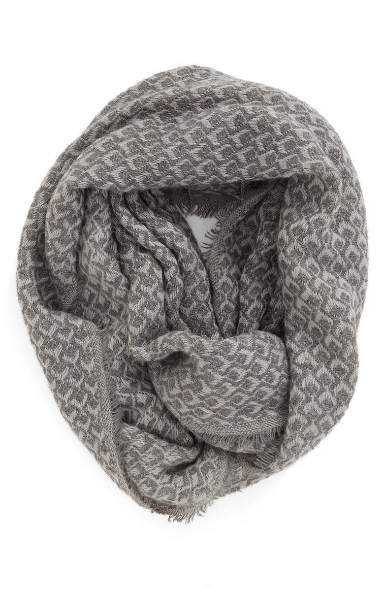 BP. Textured Knit Infinity Scarf, Main, color, 030