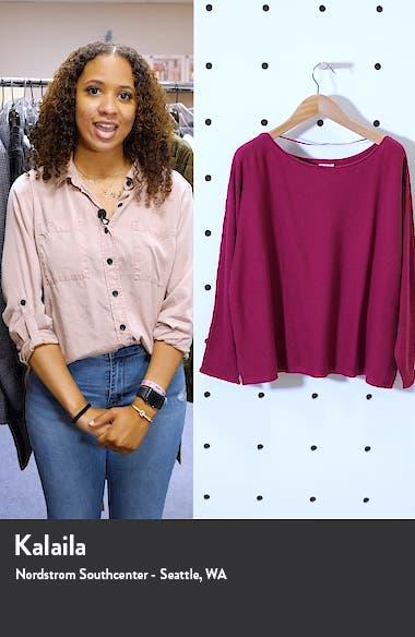 Fine Gauge Sweater, sales video thumbnail