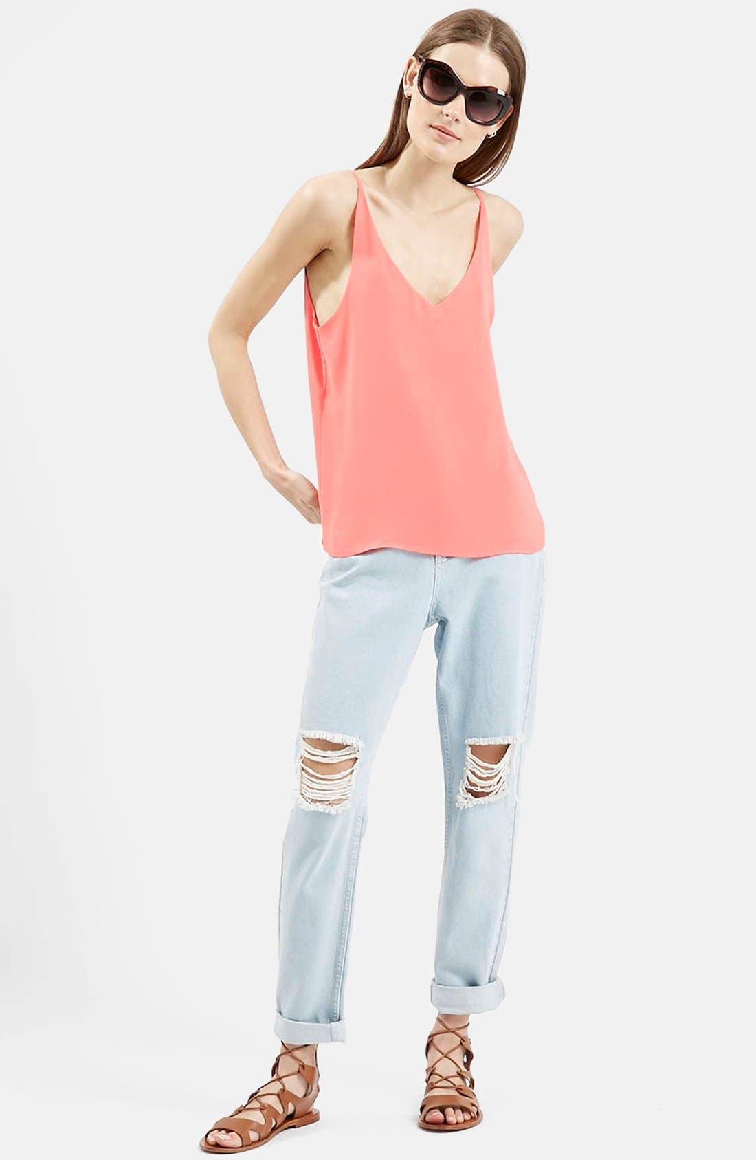 ,                             Strappy V-Neck Camisole,                             Alternate thumbnail 55, color,                             650