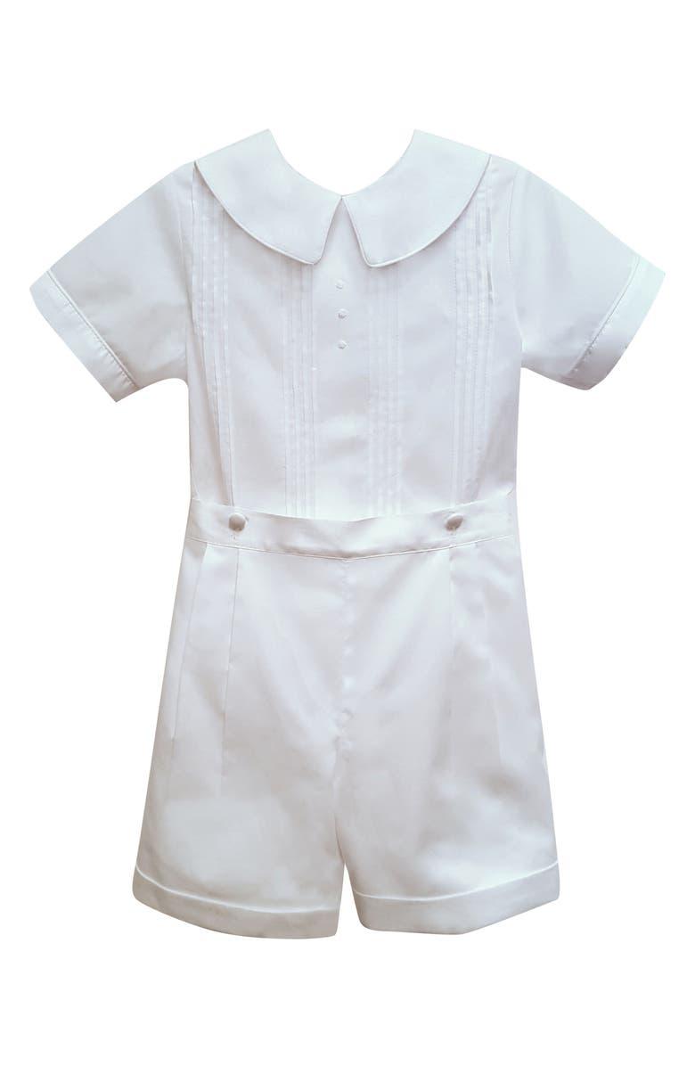 ISABEL GARRETON Sebastian Silk Shirt & Pants Set, Main, color, 100