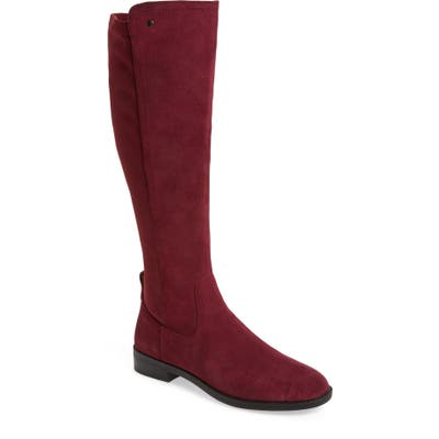 Very Volatile Anchor Knee High Boot, Burgundy