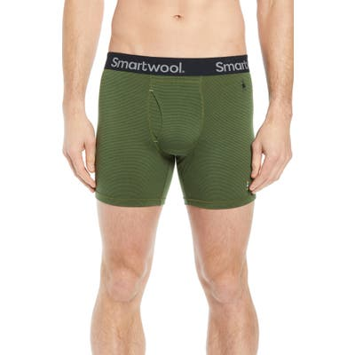 Smartwool 150 Merino Wool Blend Boxer Briefs, Green