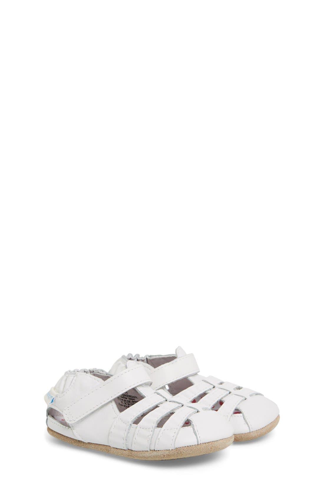 Robeez® Mini Shoez 'Paris' Sandal (Baby
