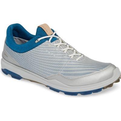 Ecco Biom Hybrid 3 Gore-Tex Golf Shoe, Blue