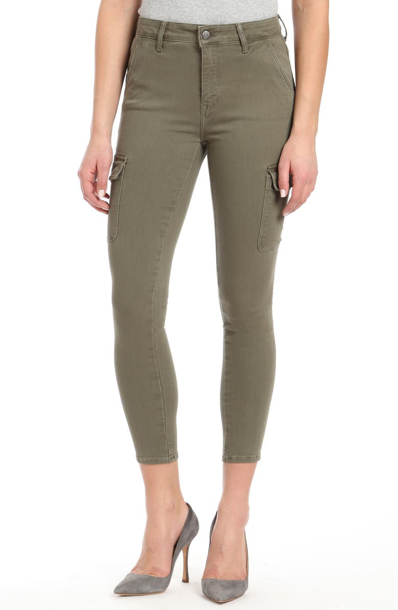 MAVI JEANS Arina Millitary Twill Pants, Main, color, MILITARY TWILL