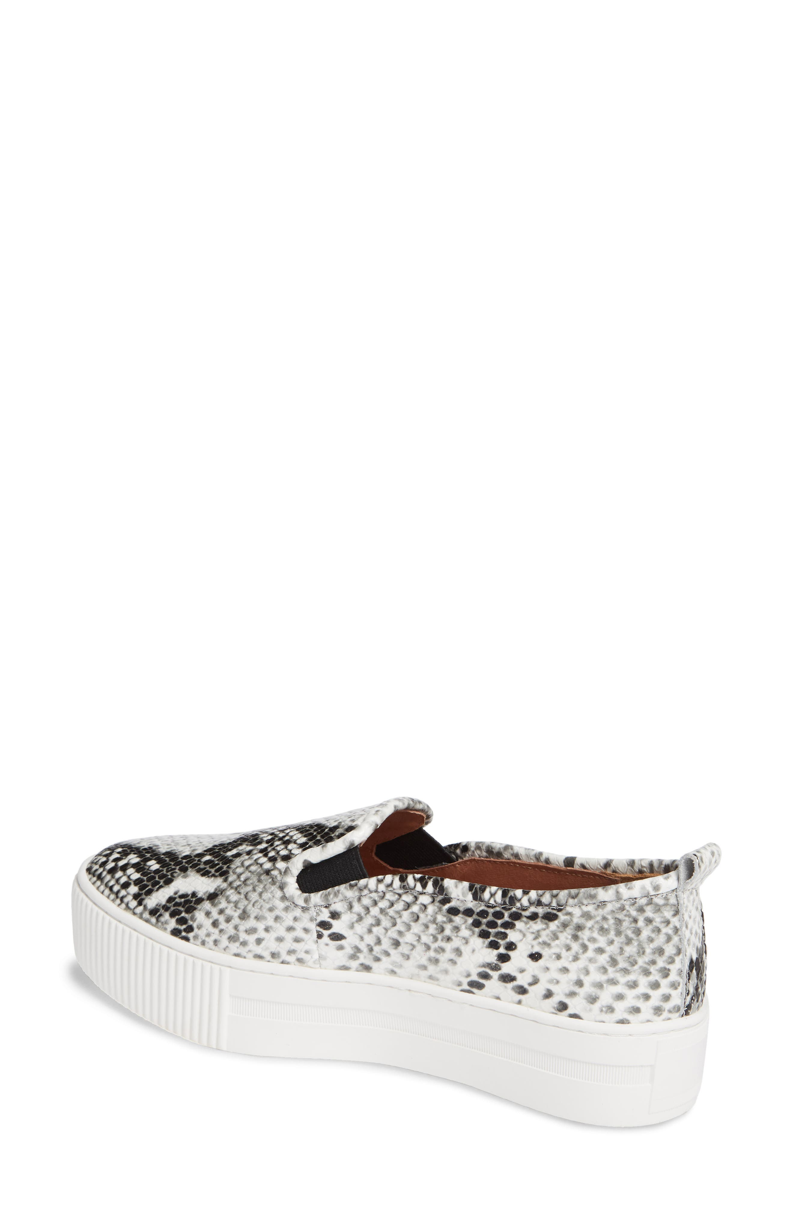,                             Baylee Platform Slip-On Sneaker,                             Alternate thumbnail 2, color,                             PYTHON PRINTED LEATHER