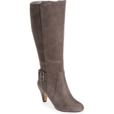 Bella Vita Troy Ii Knee High Boot, Grey