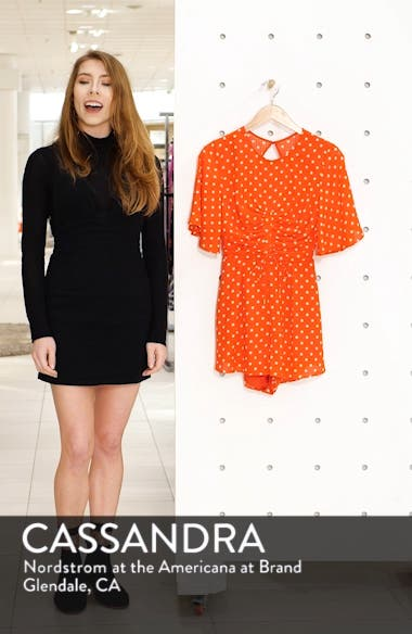 Finder Keepers Rosie Dot Romper, sales video thumbnail