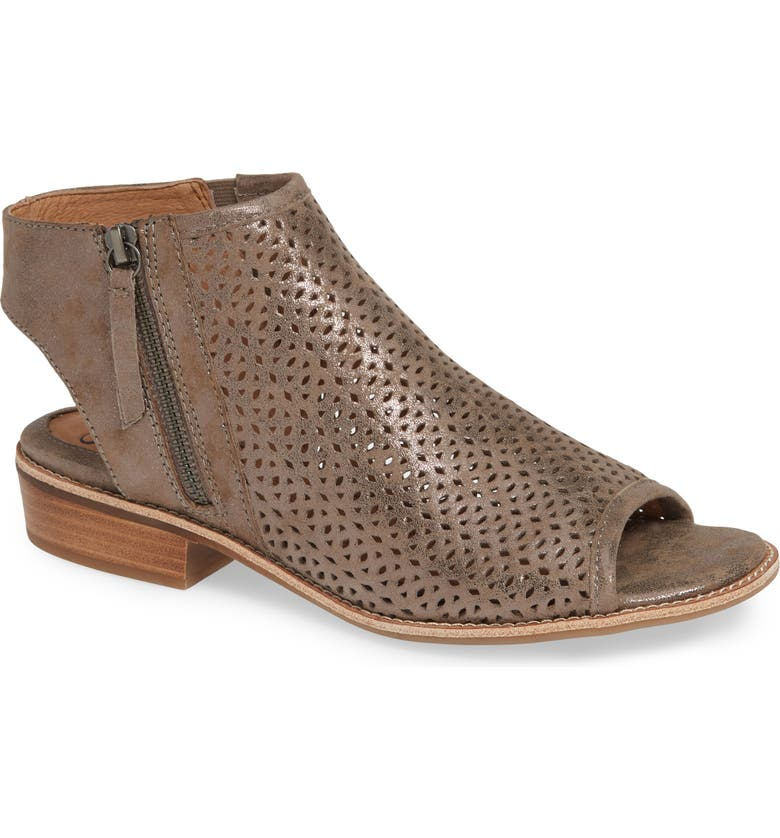 SÖFFT Natesa Perforated Sandal, Main, color, 027