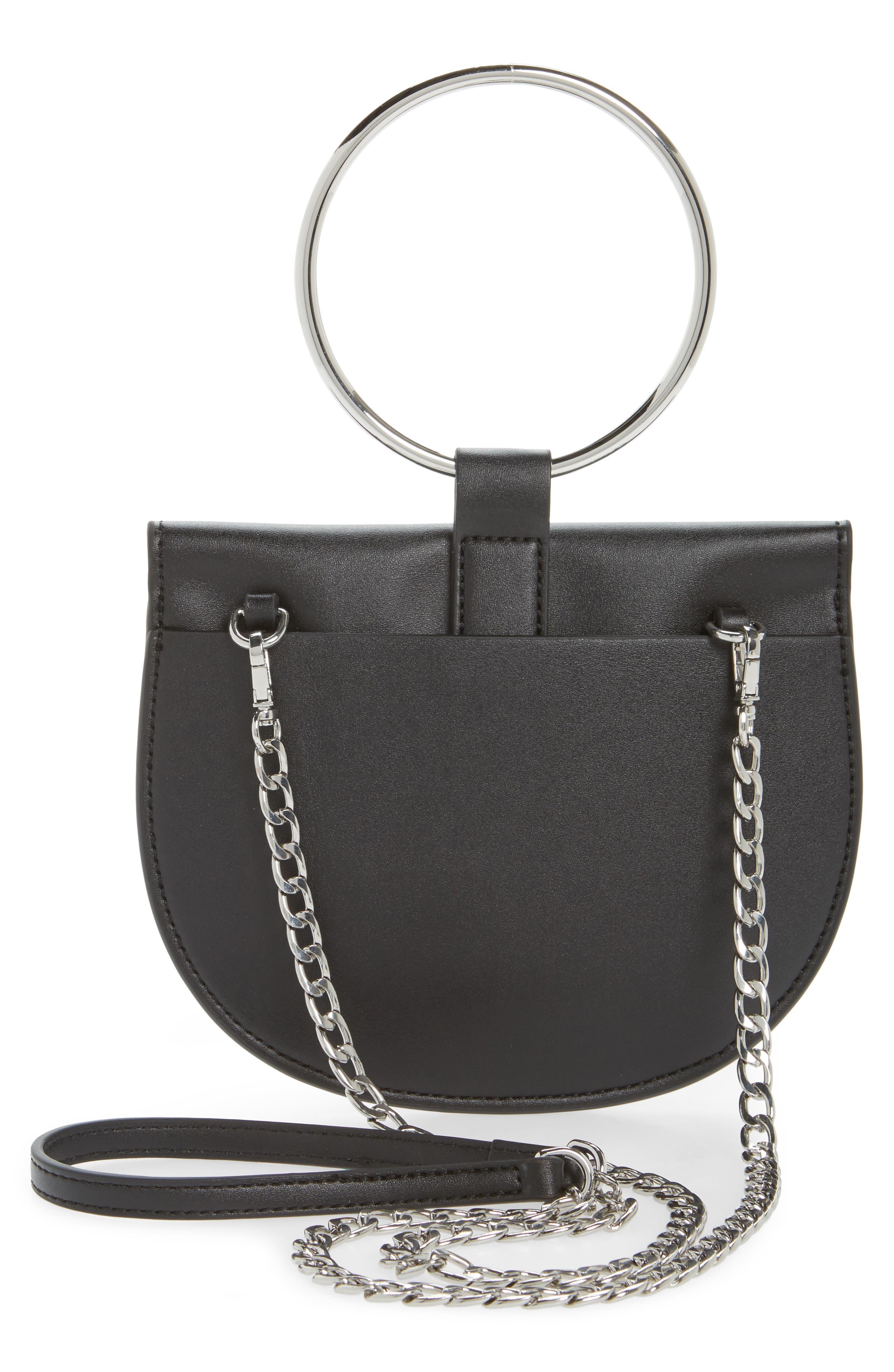 ,                             Reese Ring Crossbody Bag,                             Alternate thumbnail 3, color,                             001