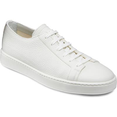 Santoni Cleanic Sneaker - White
