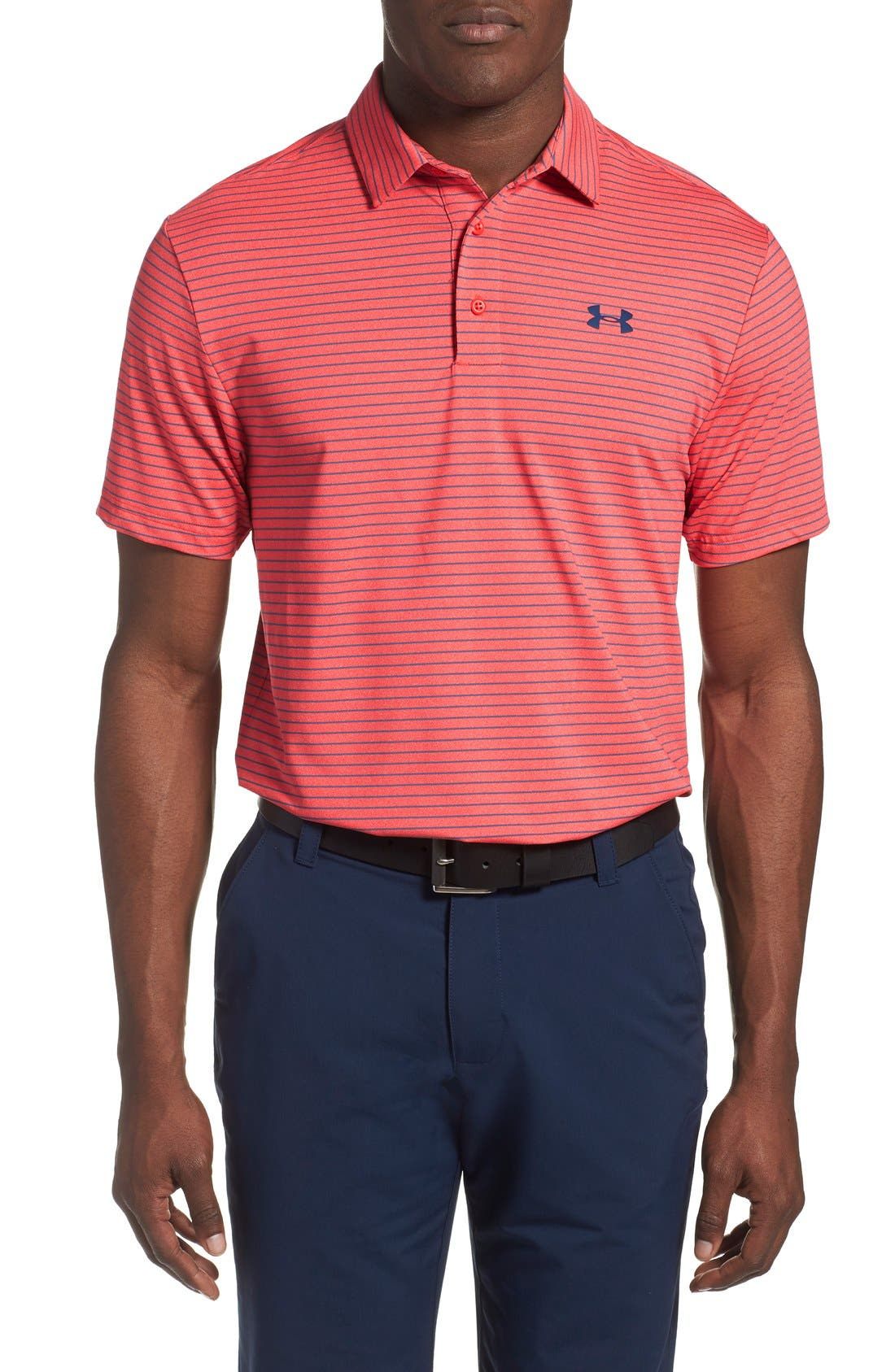 ,                             'Playoff' Loose Fit Short Sleeve Polo,                             Main thumbnail 370, color,                             646