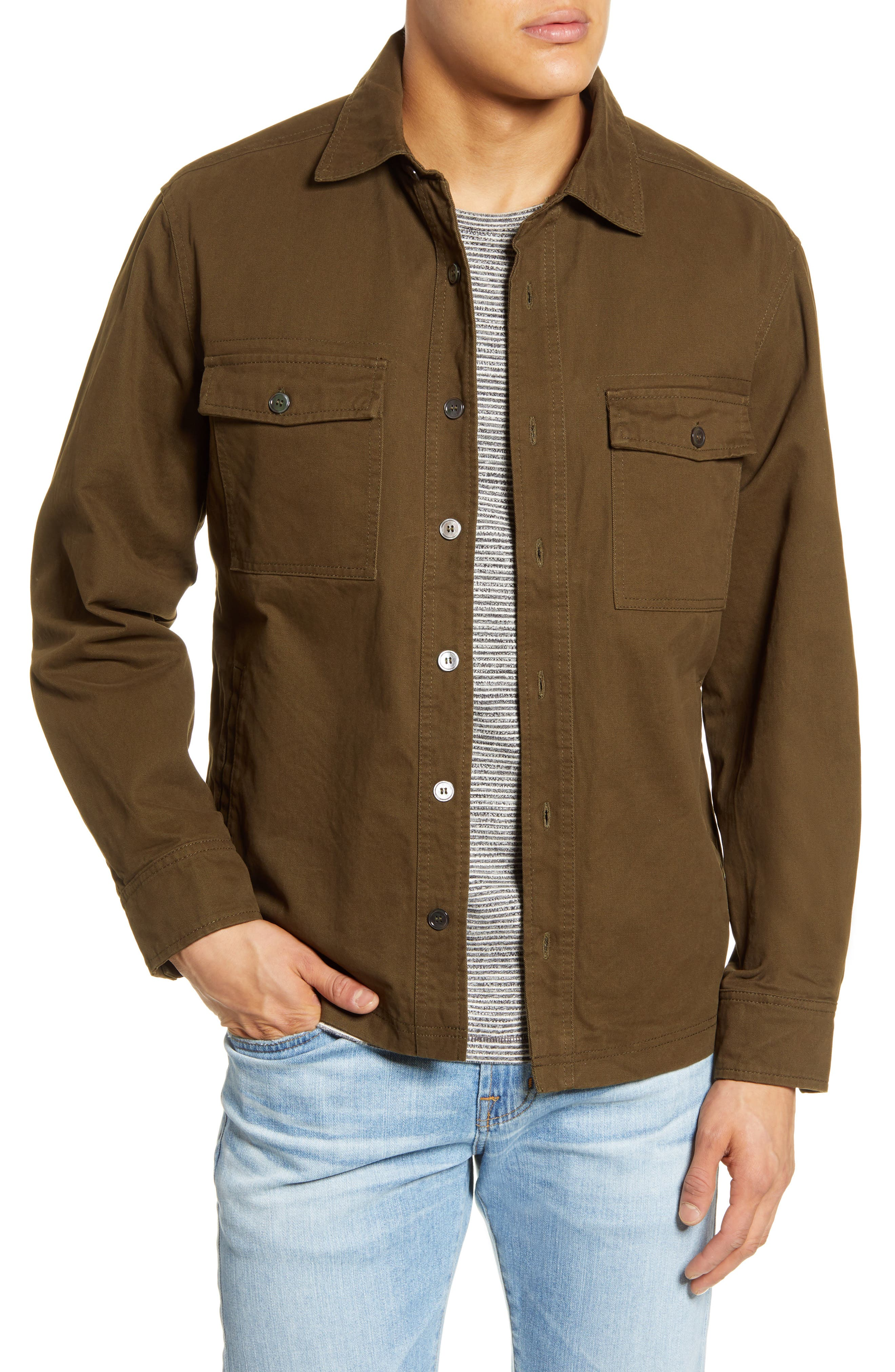 Image of BLANKNYC Denim Regular Fit Shirt Jacket