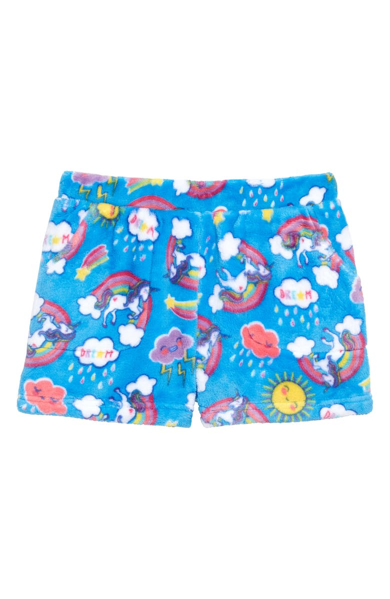 CANDY PINK Dream Pajama Shorts, Main, color, BLUE