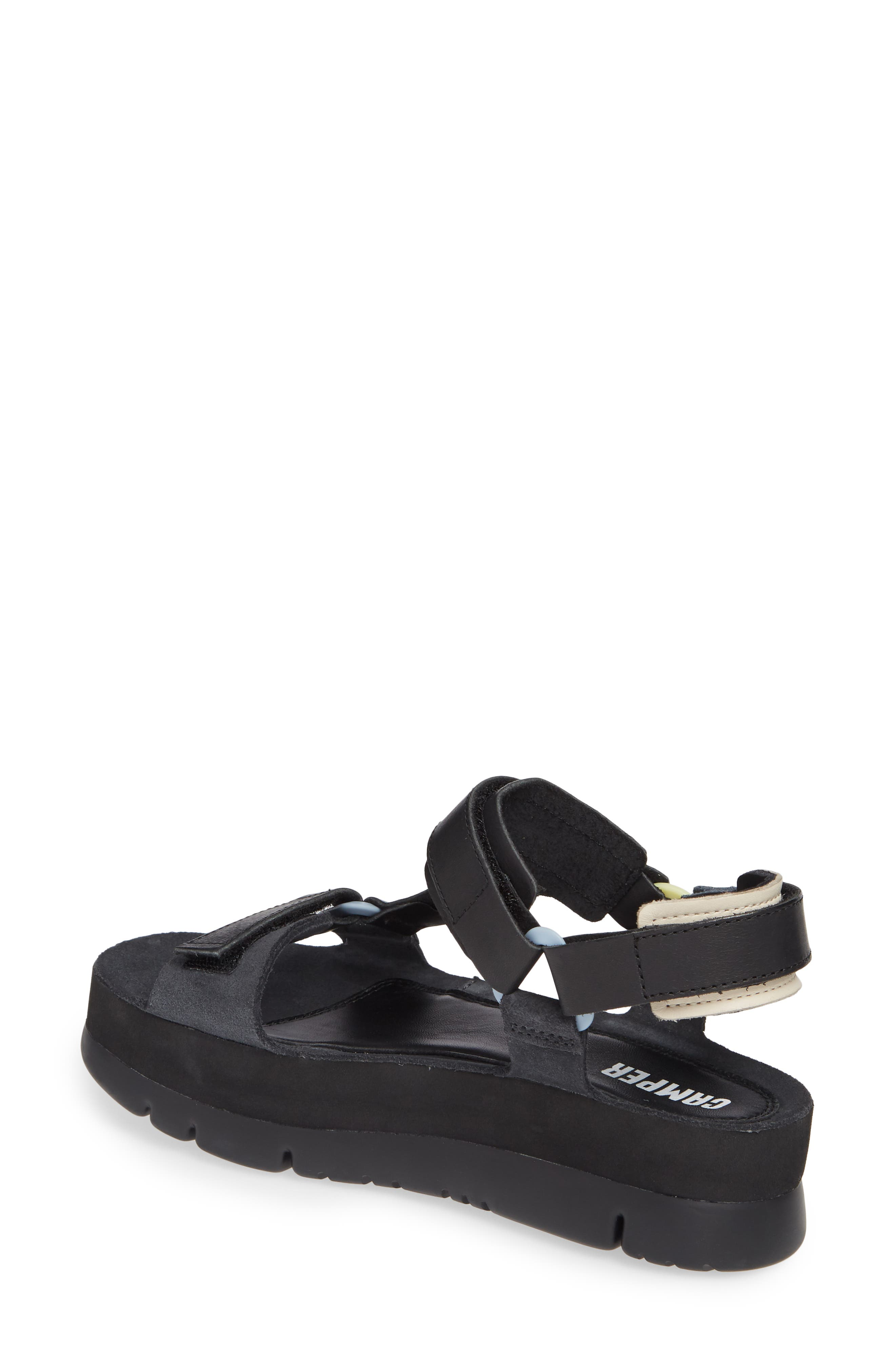 ,                             Oruga Up Platform Sport Sandal,                             Alternate thumbnail 2, color,                             BLACK
