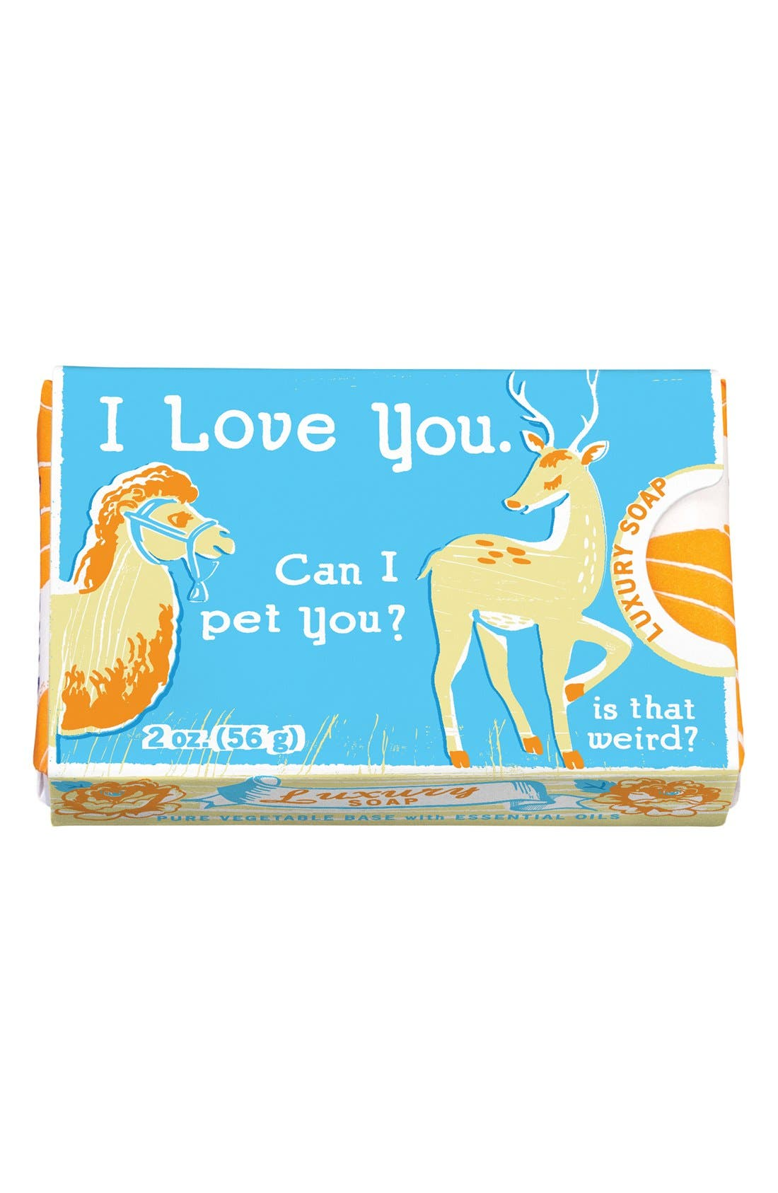 ,                             'Gardenia Orange' Luxury Soap,                             Main thumbnail 3, color,                             801