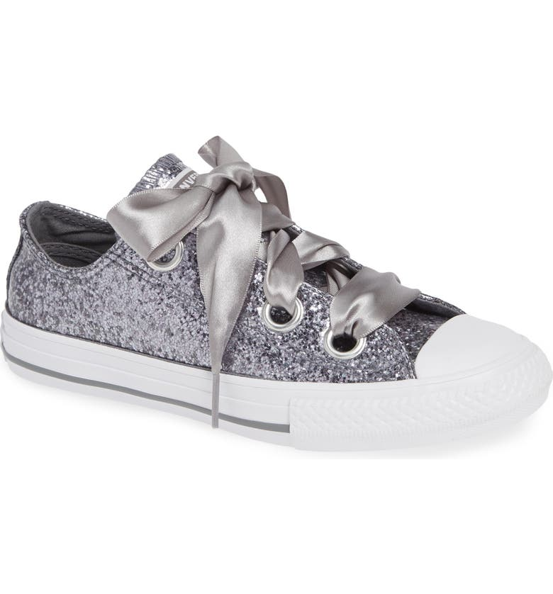 CONVERSE Chuck Taylor<sup>®</sup> All Star<sup>®</sup> Glitter Big Eyelet Ox Sneaker, Main, color, 020