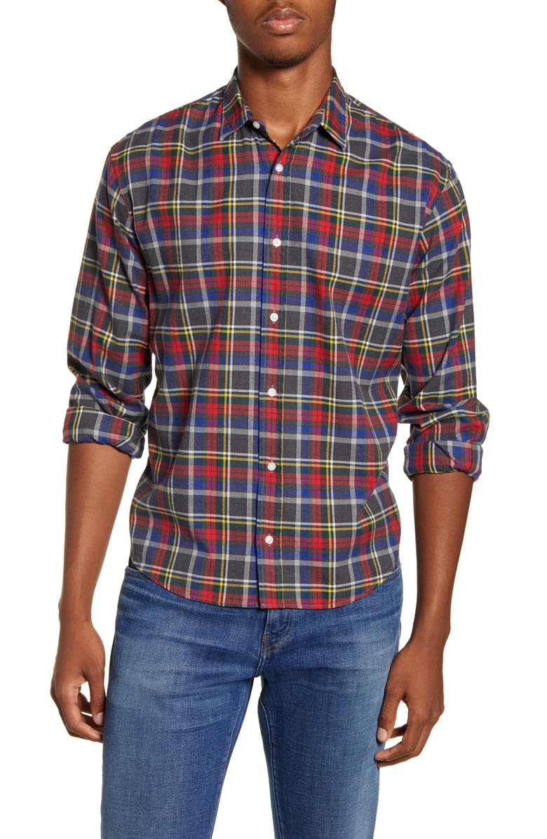 FRANK & EILEEN Finbar Regular Fit Plaid Button-Up Sport Shirt, Main, color, MULTI PLAID