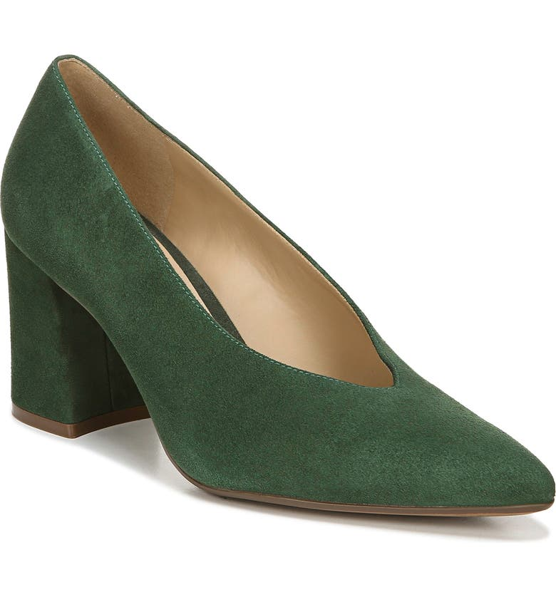 NATURALIZER Hope Pointy Toe Pump, Main, color, FOREST GREEN SUEDE