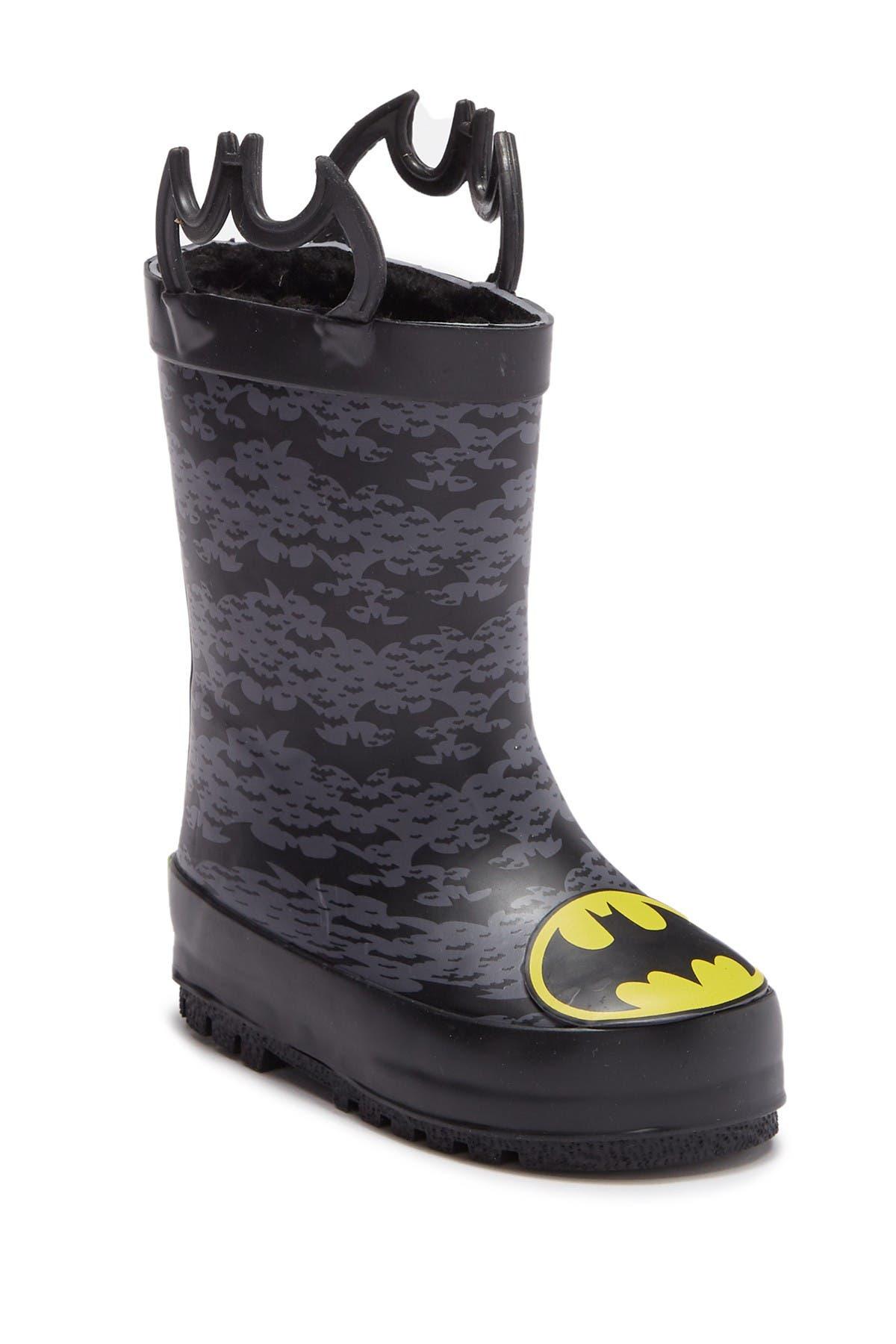 Batman Fighter Waterproof Rain Boot
