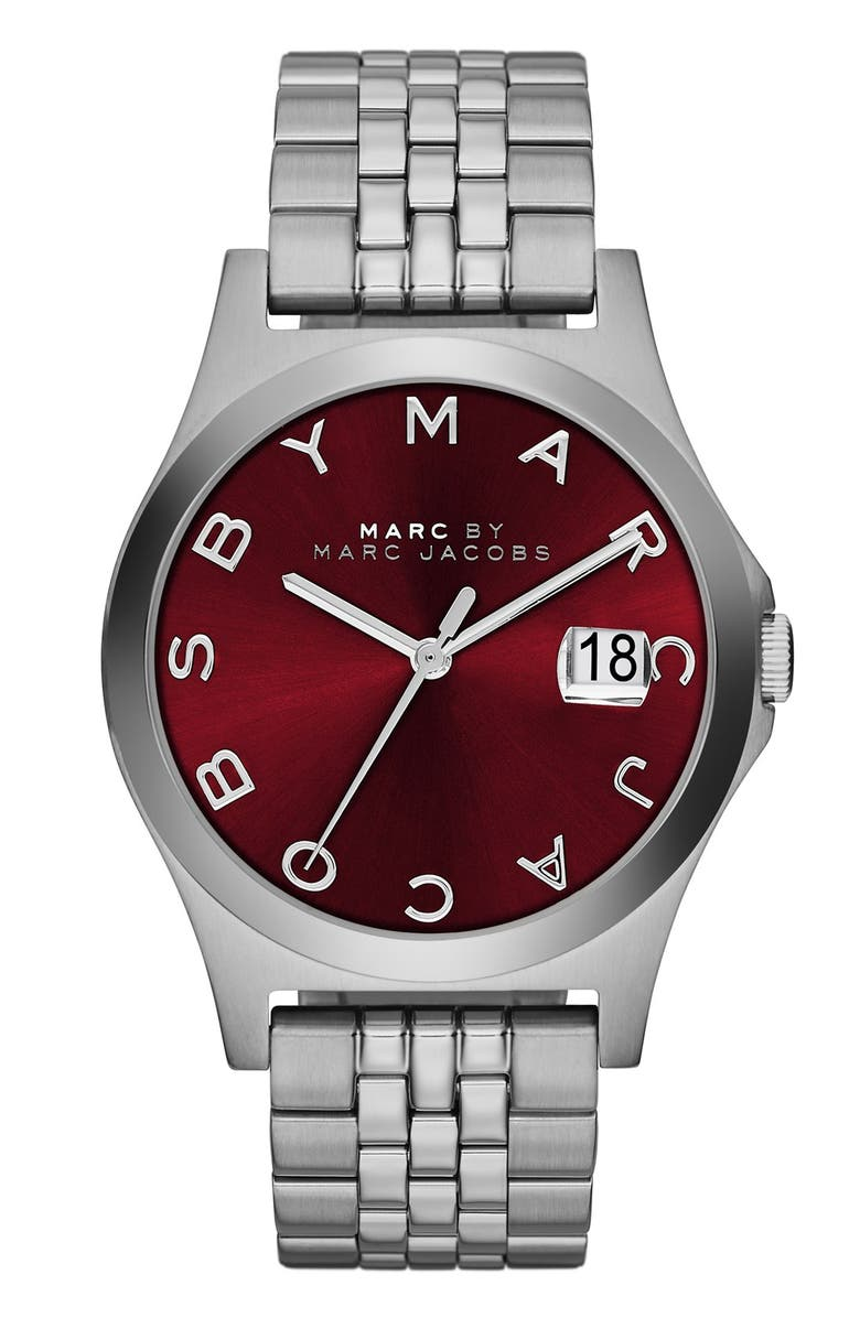 MARC JACOBS 'The Slim' Bracelet Watch, 36mm, Main, color, 040