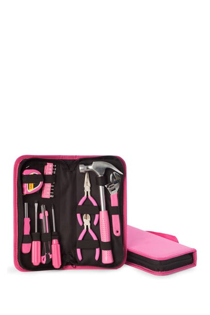 Image of Bey-Berk Pink Lady's 20-Piece Tool Set