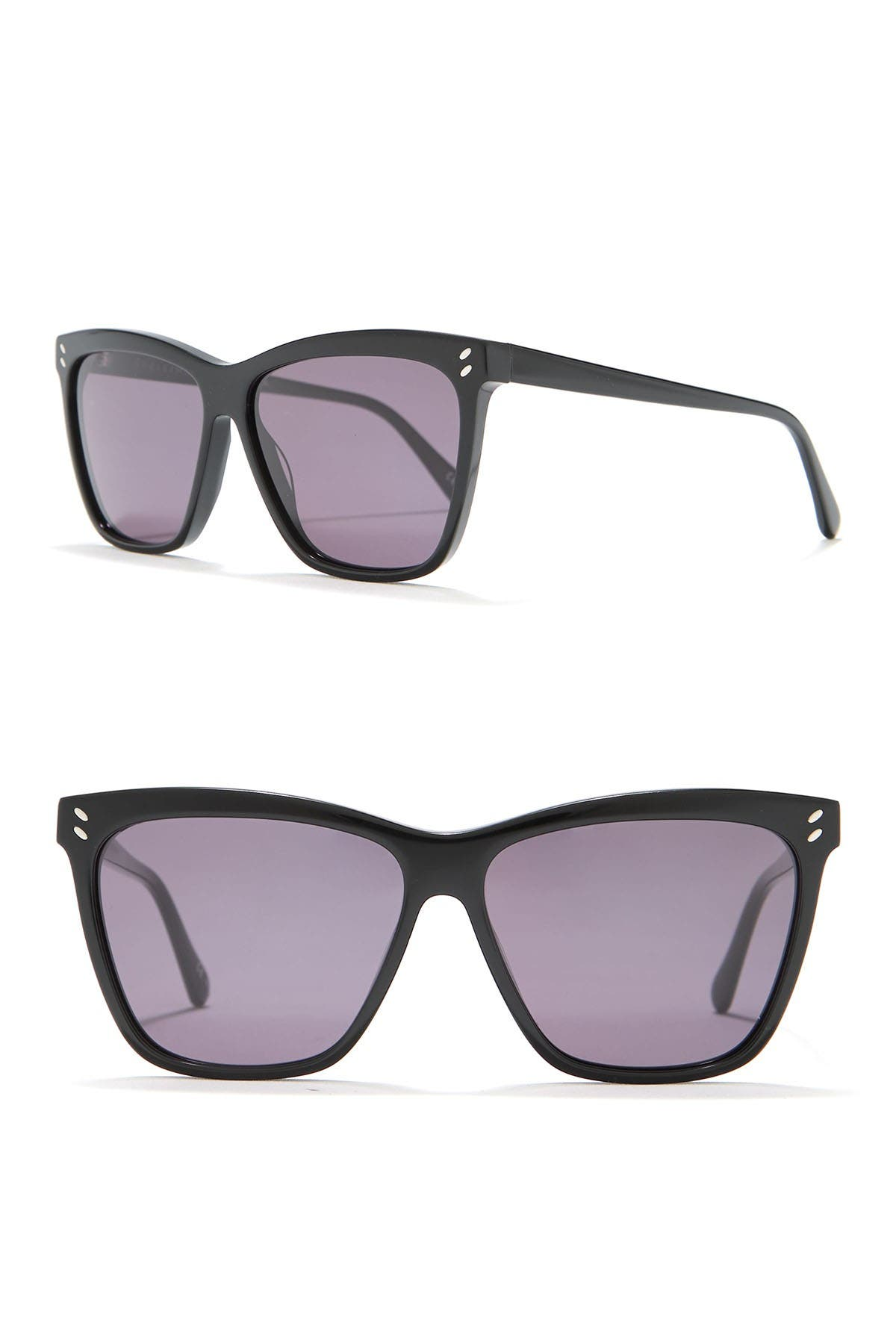 Image of Stella McCartney 57mm Cat Eye Sunglasses