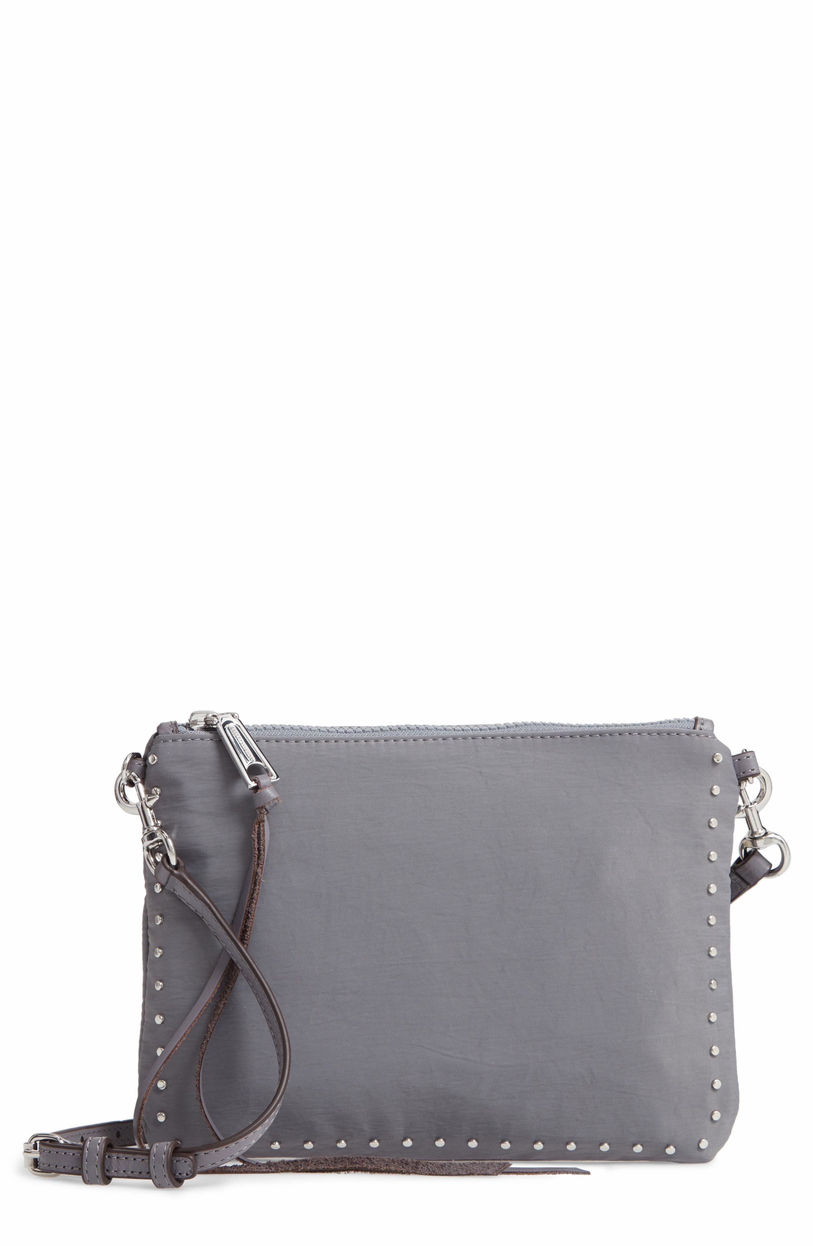 ,                             Jon Studded Nylon Crossbody Bag,                             Main thumbnail 8, color,                             020