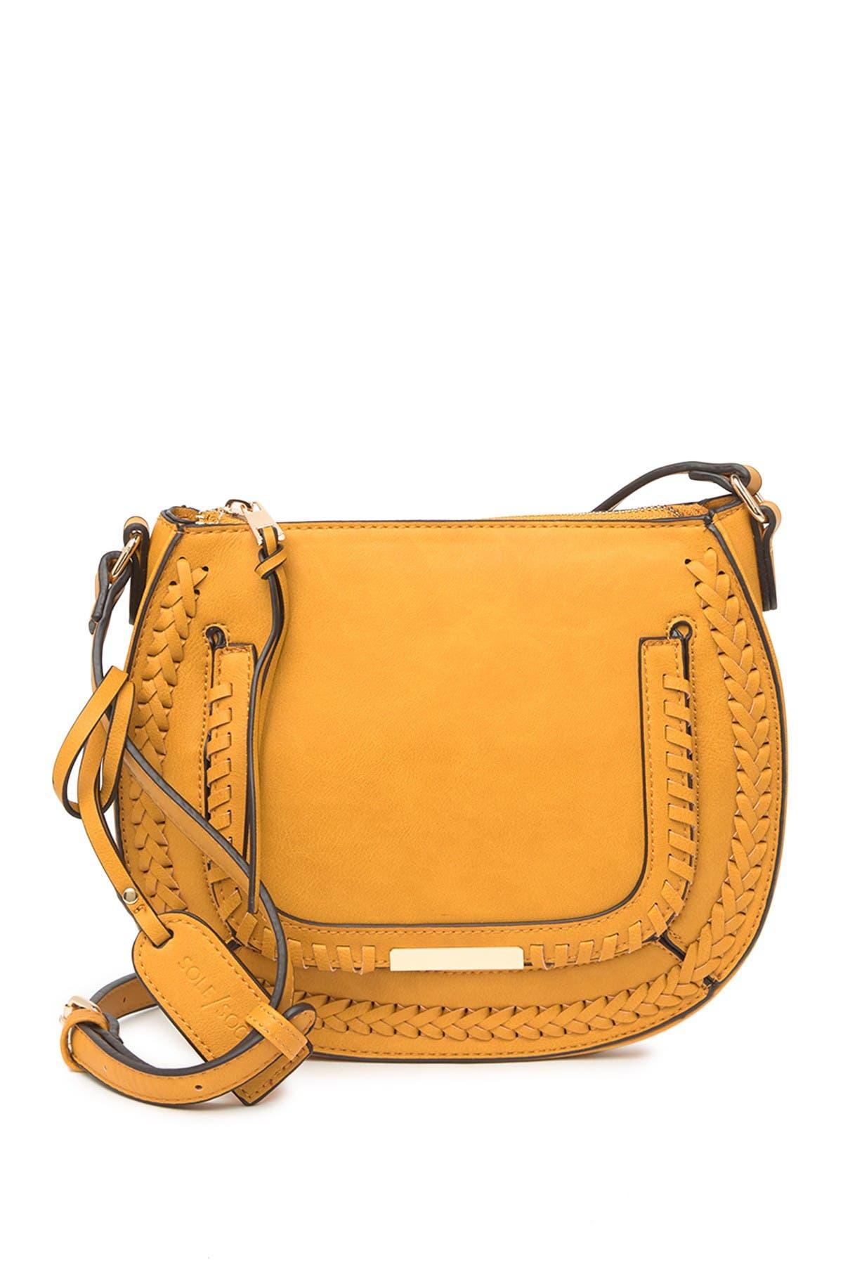 Image of Sole Society Dayla Whipstitch Crossbody Bag