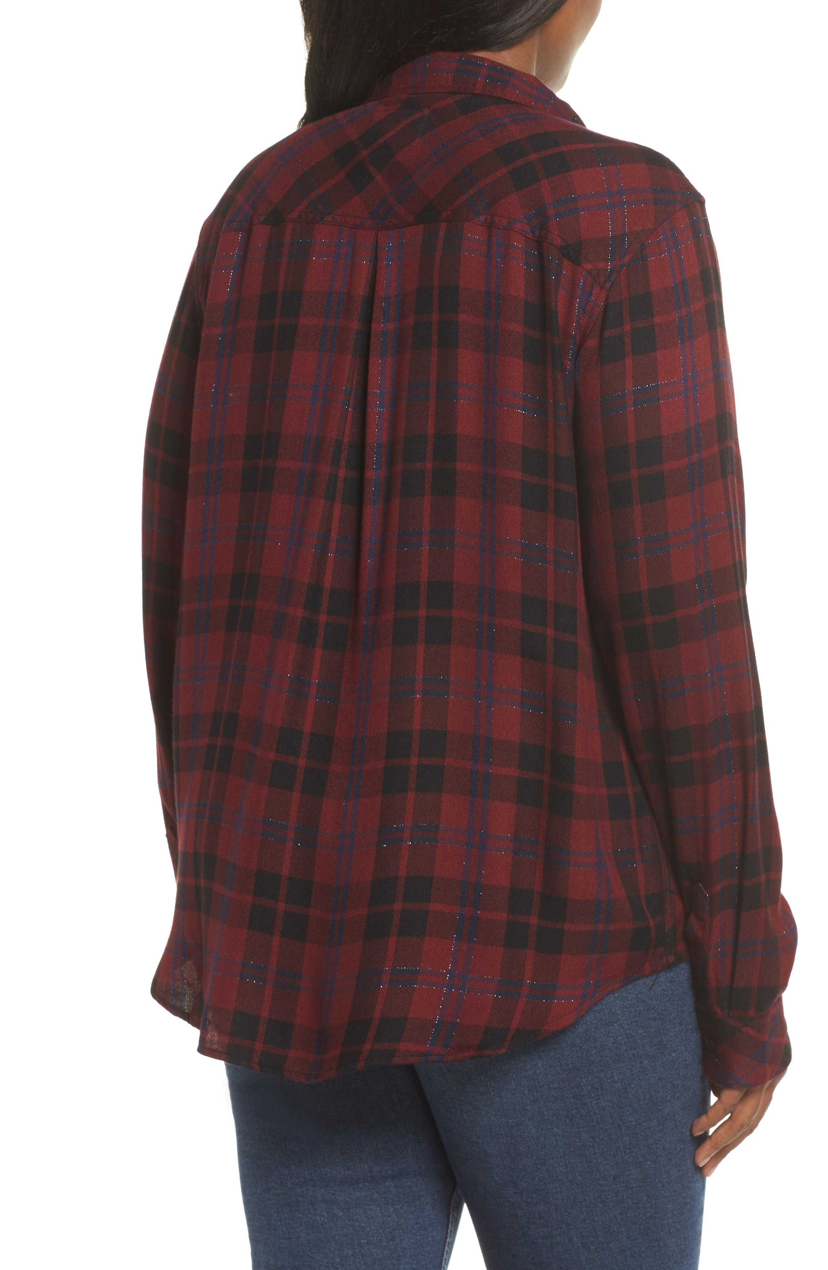 ,                             Hunter Plaid Shirt,                             Alternate thumbnail 435, color,                             932