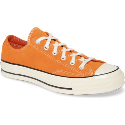 Converse Chuck Taylor All Star 70 Suede Low Top Sneaker- Orange