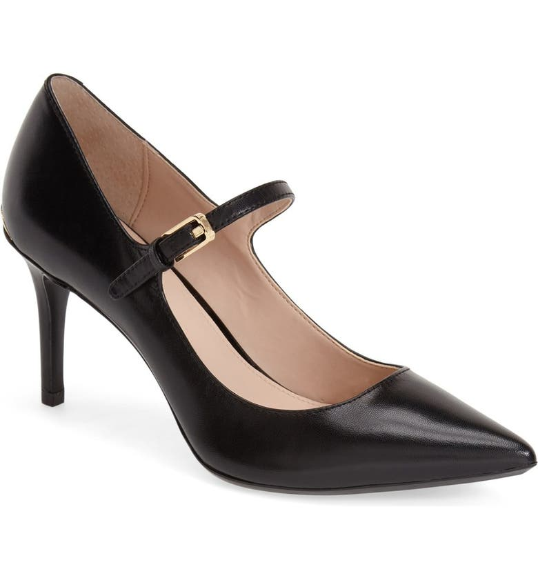 CALVIN KLEIN 'Genavee' Pointy Toe Pump, Main, color, 001