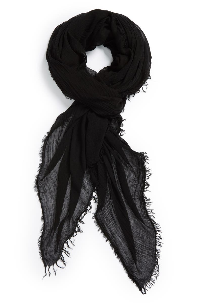 LEITH Fringe Scarf, Main, color, 001