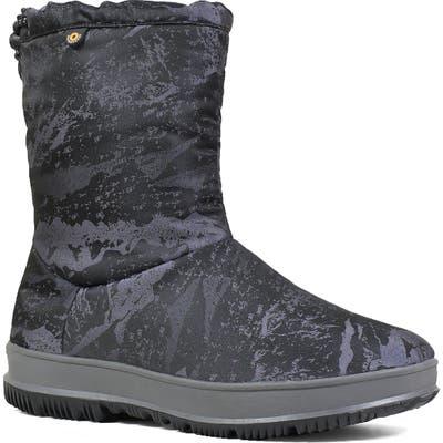 Bogs Snowday Mid Waterproof Snow Boot, Metallic