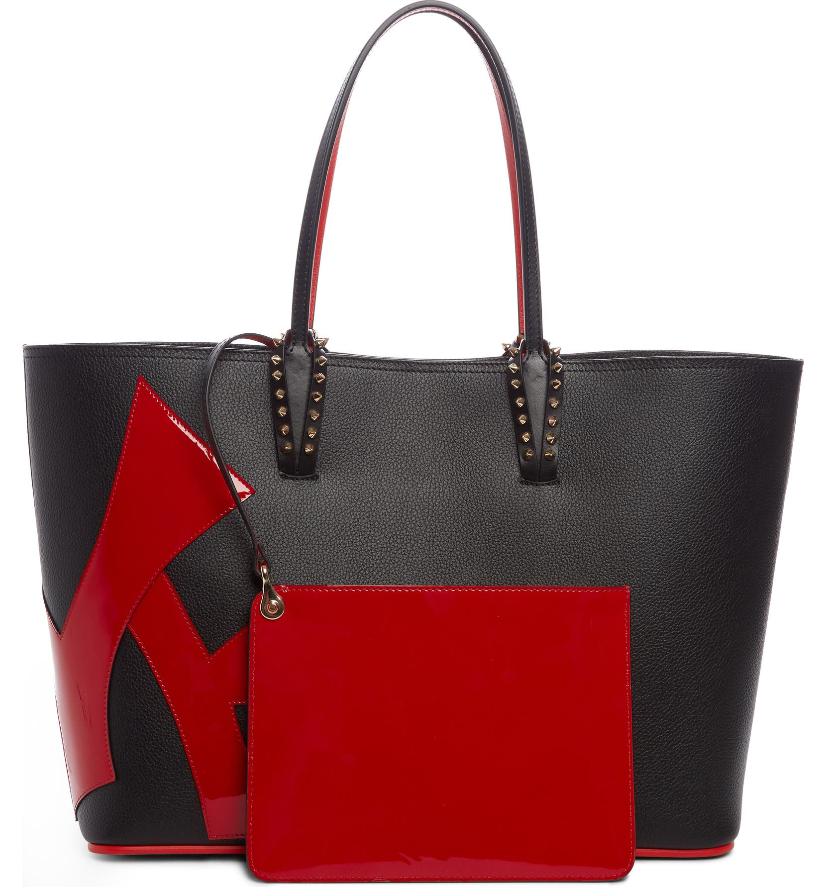 dc69ee9a433 Cabata Love Embellished Leather Tote