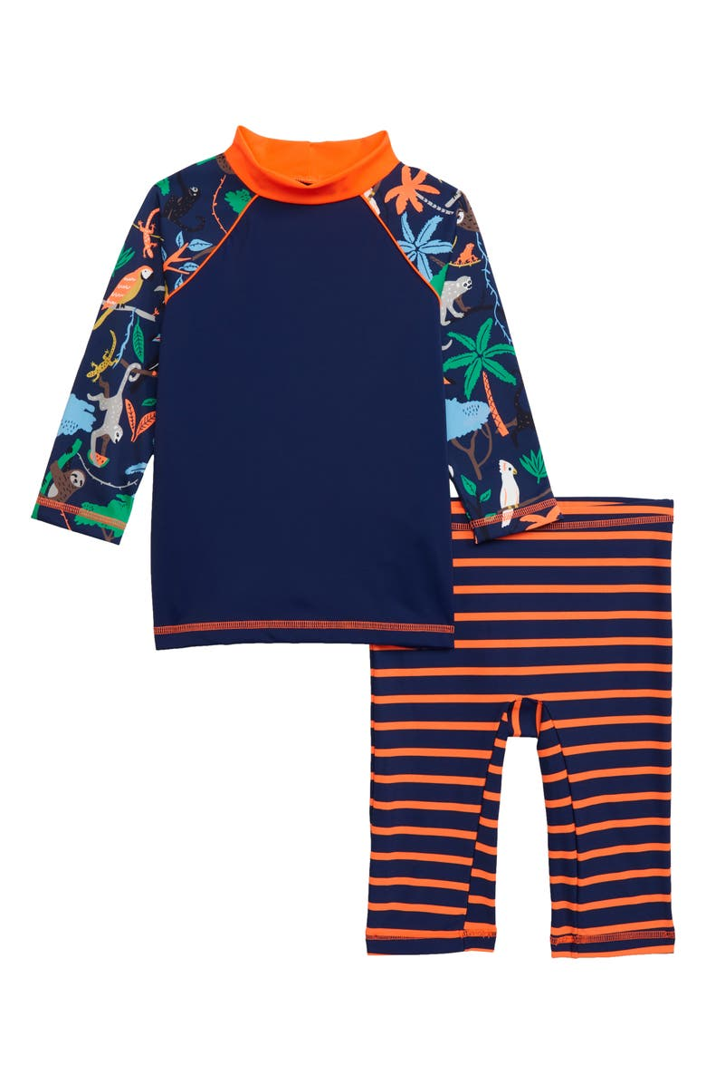 8bfafe29b8 Mini Boden Surf Suit Two-Piece Rashguard Swimsuit (Toddler Boys ...