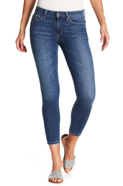 Image of Joe's Jeans Icon Clean Ankle Cropped Skinny Leg Jeans